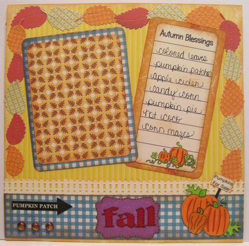 Welcome Fall set - Rhonda Zmikly
