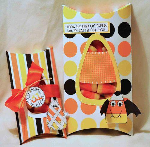 Corn pillow box