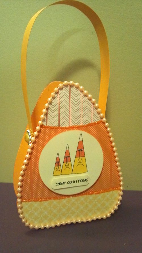Candy Corn Friends - Audrey Long - Crazy candy corn and candy corn treat box