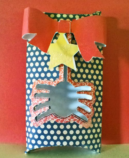 Halloween Pillow box - Holly Hudspeth
