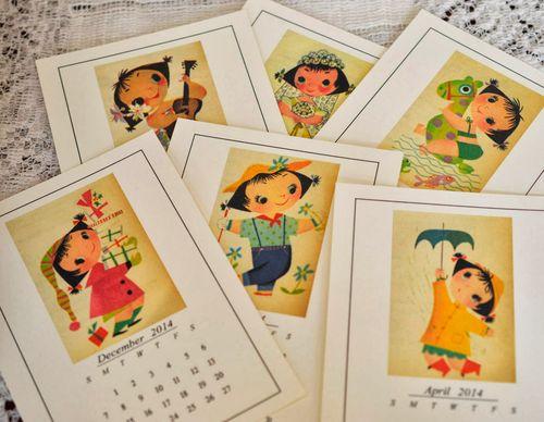 Mary blair calendar images
