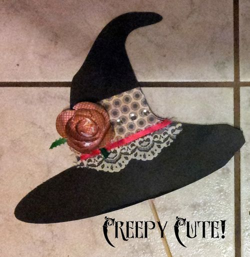 Witch Hat - Holly Hudspeth - Halloween photo booth props