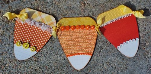 Candy corn - Debbie fisher - Candy corn treat box