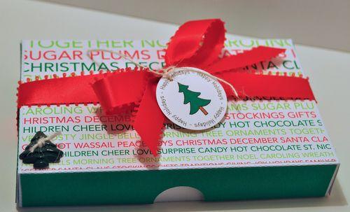 Christmas pizza box 1