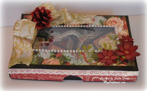 Leslie Foley - Pizza box