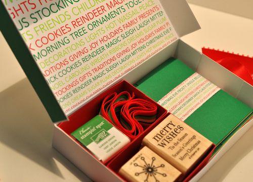 Christmas pizza box 2