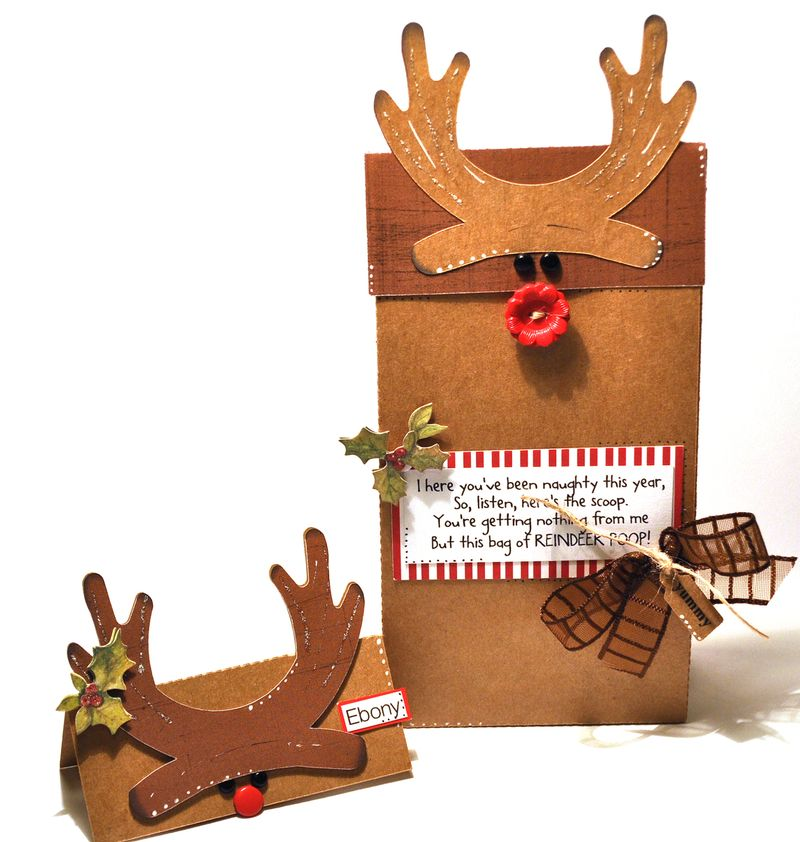 Christmas bag topper