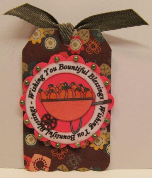 Rhonda Zmikly - So thankful circle word set and wheelbarrow deliveries