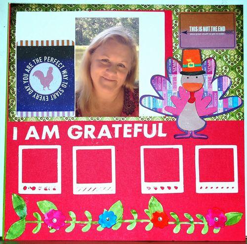Holly Hudspeth - Turkey shaped card