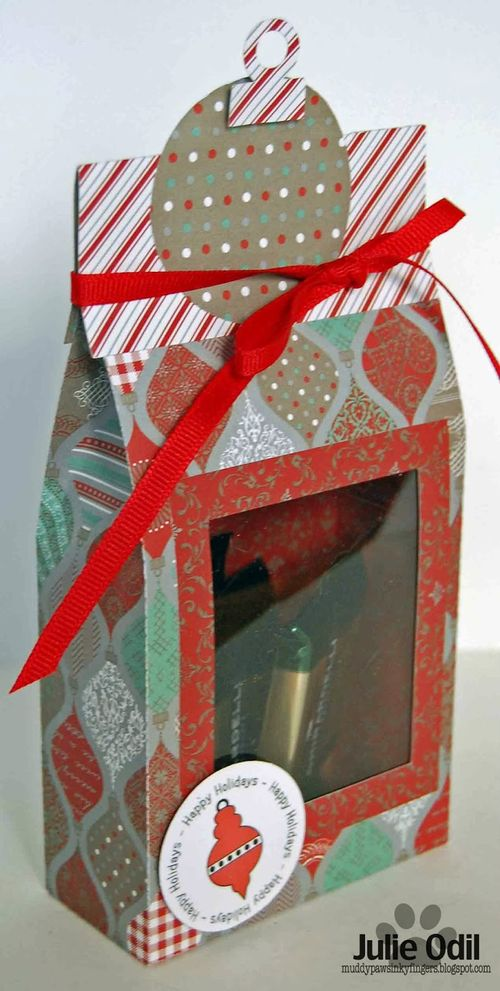 Christmas bag toppers - Julie Odil