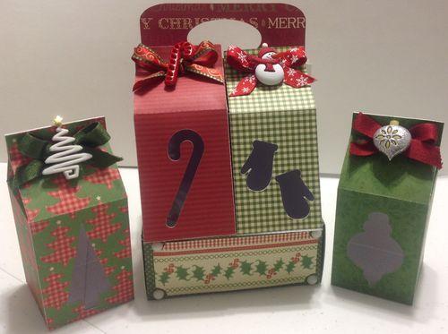 Christmas Milk Cartons - Katryce Townsend