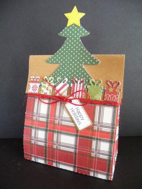 Happy Holidays - Jeri Thomas - Christmas bag toppers