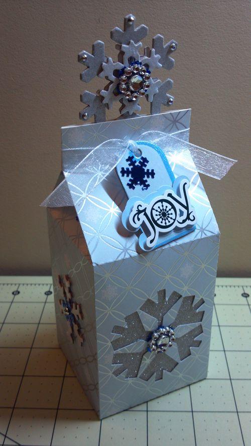 Christmas Milk Cartons - Audrey Long
