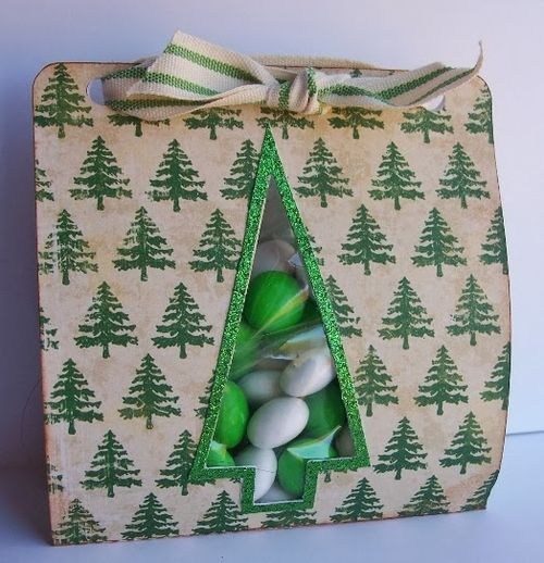 Debbie Fisher - Christmas tree goodie bag