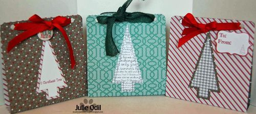 Julie Odil - Christmas tree goodie bag