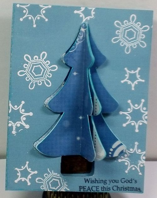 3d christmas tree set - Shanta Newby