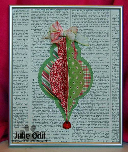 Christmas ornament fun - Julie Odil
