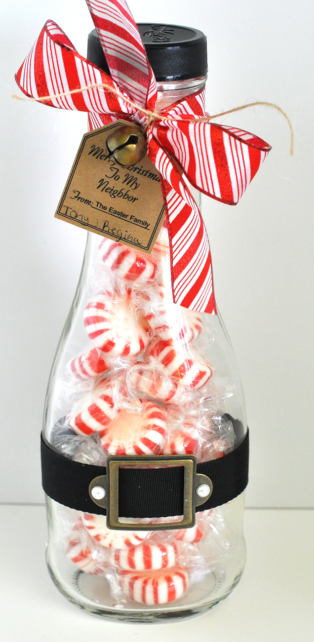 Peppermint jar