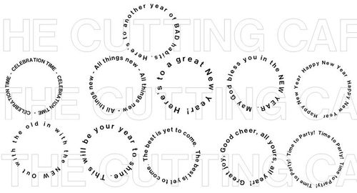 The Cutting Cafe\': NEW YEAR SENTIMENTS PRINTABLE SET