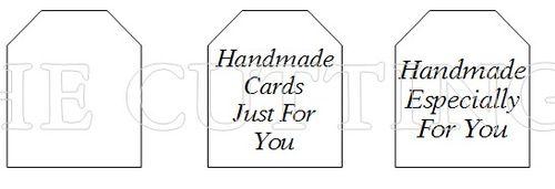 CARD BOX SENTIMENTS