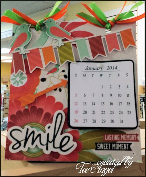 2014 calendar - Tee Angel