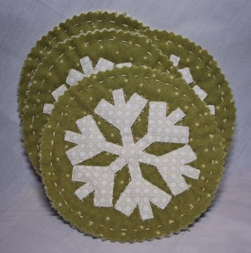 Fun with snowflakes set - Debbie Fisher