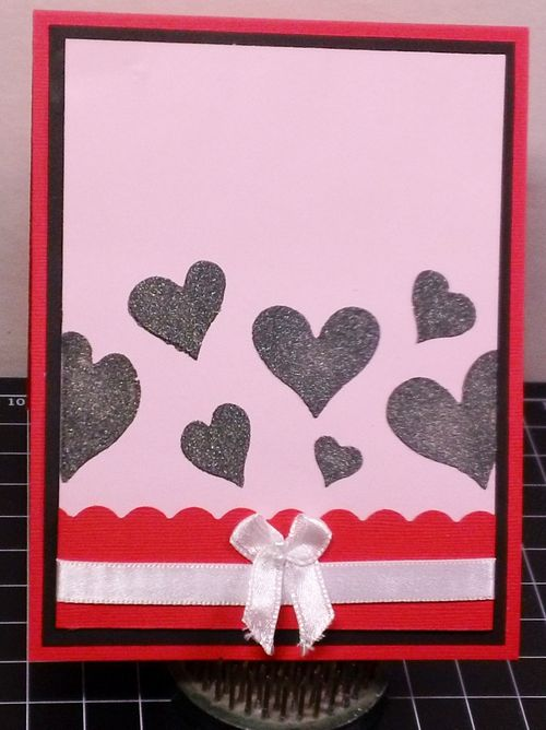 Valentine window card tops - Shanta Newby