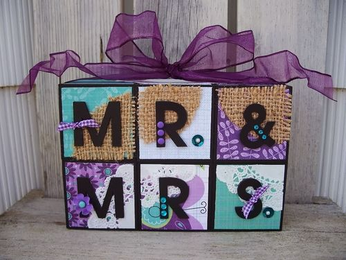 MR & MRS - Debbie Fisher - fun with blocks