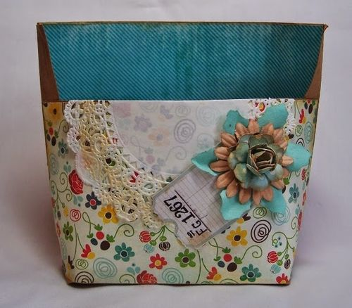 ENVELOPE TEMPLATES and PAPER FLOWERS - Debbie Fisher