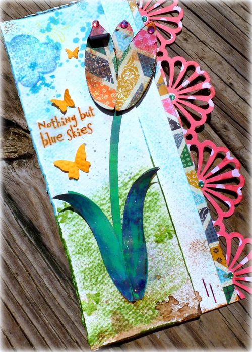 Tulip card set - Mitra Pratt