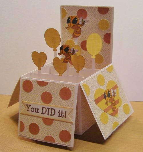 YOU DID IT - Rhonda Zmikly - Card in a box