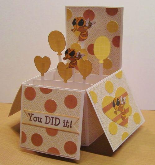 YOU DID IT - Rhonda Zmikly - Card in a box