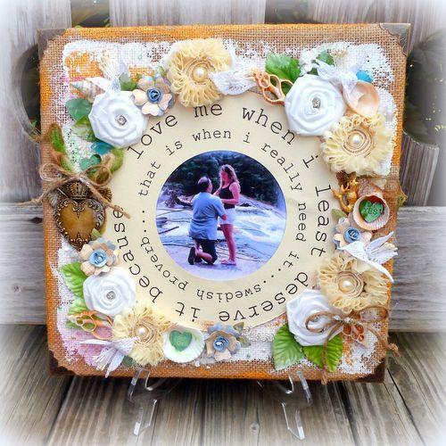 A love story set - Mitra Pratt