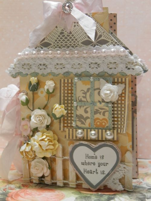 House shaped card - Tmika Miller