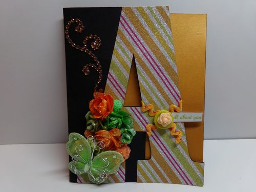 A is for all about you - Audrey Miller - A letter set