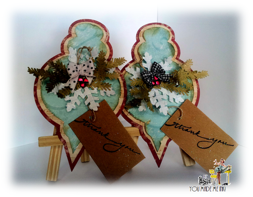 Christmas ornament fun - Lisa Minckler