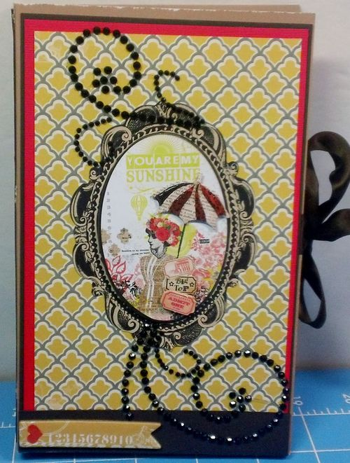 Greeting card folder - Shanta Newby