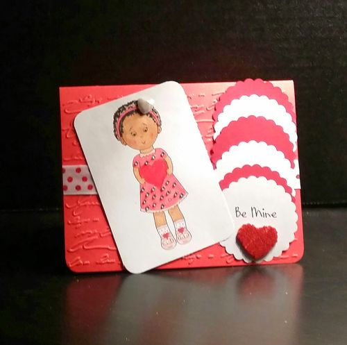 Be mine - Reketa Brown - Ruby J with a big heart