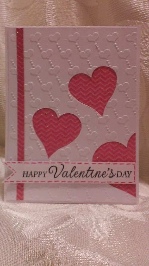 VALENTINE WINDOW CARD TOPS - Chauntelle Lee