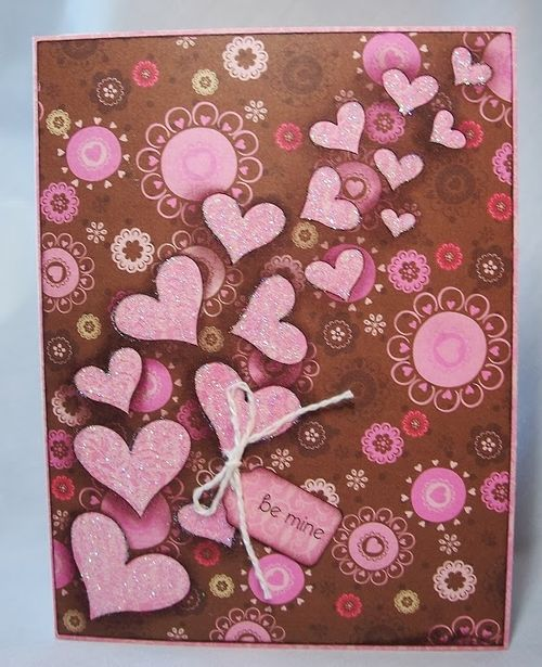 VALENTINE WINDOW CARD TOPS - Debbie Fisher