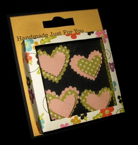 Handmade embellishment box - Cathryn Holzschuher