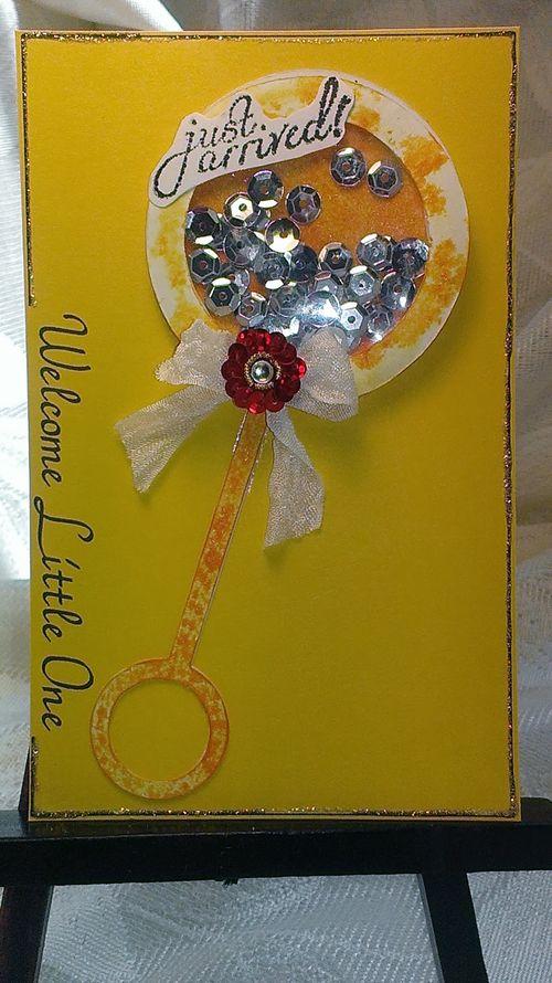 LITTLE ONE - Chauntelle Lee - Rattle shaker card