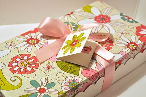 the cutting cafe large gift box template and cutting file