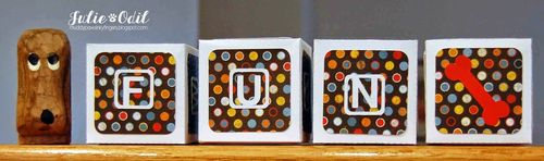 ALPHABETIC WINDOW CARD TOPS - Julie Odil