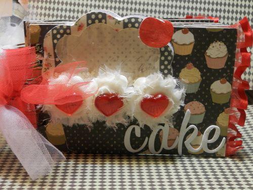 Cupcake mini - Tmika Miller - Cupcake shaker card set