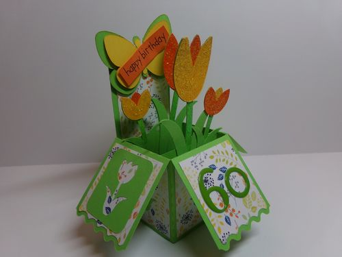 Tulip card set - Audrey Long