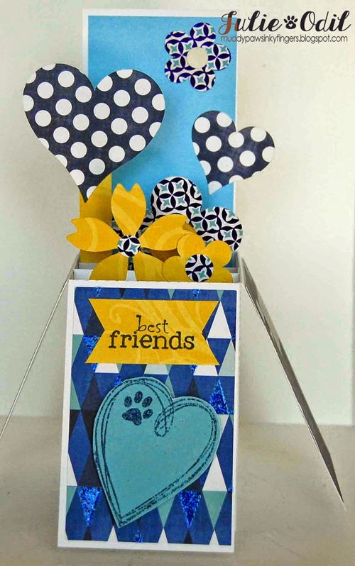 Best friends - card in a box - Julie Odil