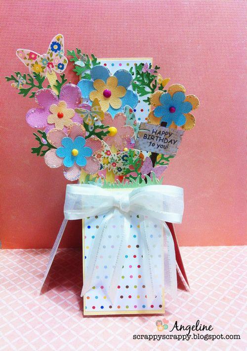 Card in a box - Angeline Choo