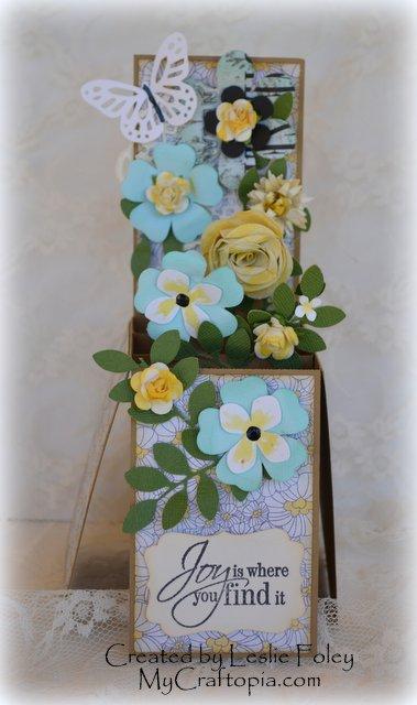 Card in a box - Leslie Foley