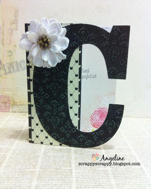 C letter set - Angeline Choo